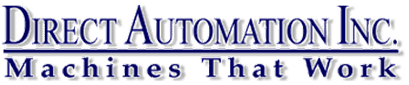 Logo, Direct Automation Inc. - Machine Design
